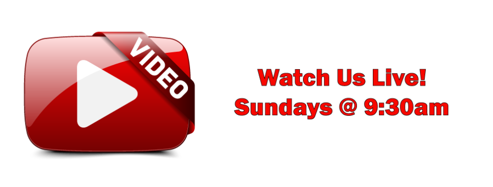 Watch live sermons Sunday at 9:30 AM or view archived sermons on youtube